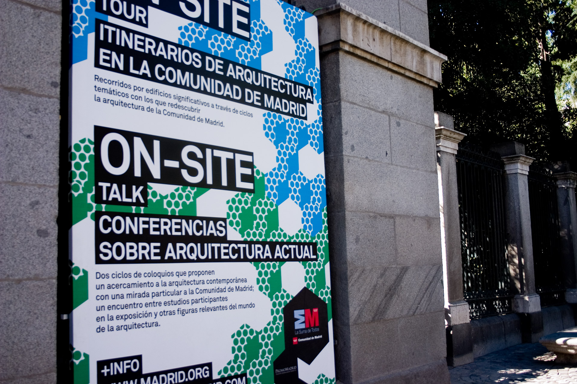 ON-SITE. Aquitectura Contemporánea en la Comunidad de Madrid